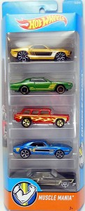 Hot Wheels - 5 pack  01806