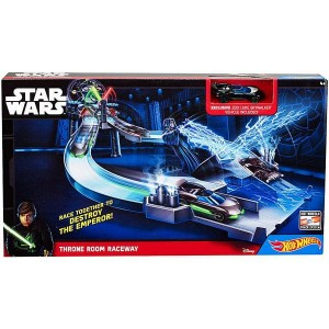 Hot Wheels Star Wars Wyścig w sali torowej CHB13 CGN44