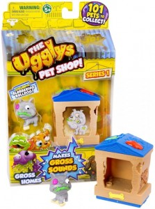 TM Toys The Ugglys Pet Shop - Paskudniaki Blubbering Bulldog z domkiem