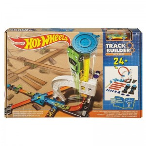 Hot Wheels Track Builder - Kaskaderski tor do konfiguracji DLF28