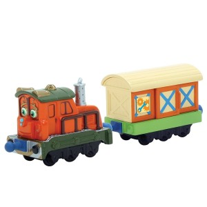 TOMY Stacyjkowo Kaja z wagonikiem Stacktrack Calley with box car LC54005