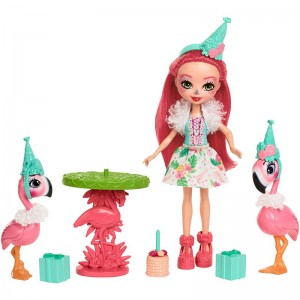 Mattel Enchantimals Zestaw Flamingowe figle
