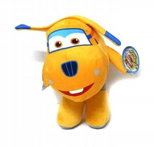 Super Wings Maskotka Śrubek Donnie 33 cm