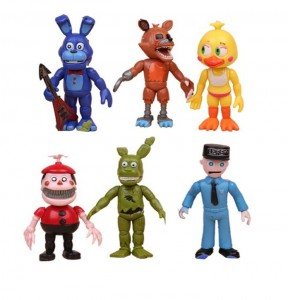 Five Nights At Freddy's Figurki - FNAF Zestaw 6 figurek B