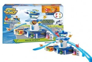 Cobi Super Wings Zestaw lotnisko + Jett i Donnie