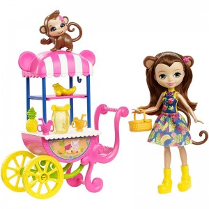 Mattel Enchantimals Wózek z owocami
