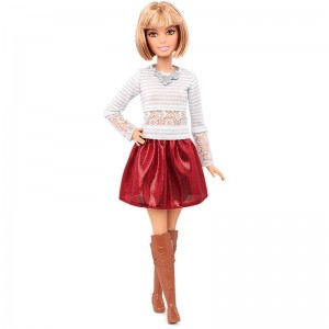 Barbie Fashionistas - Lalka Love That Lace - Petite DMF25