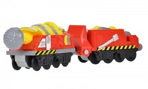 TOMY Stacyjkowo Stacktrack Wiertnica z wagonem - Tunnel Borer Machine LC54132