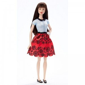 Barbie Fashionistas - Lalka Ruby Red Floral - Original DGY61